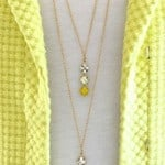 DIY Delicate Two-Tier Necklace