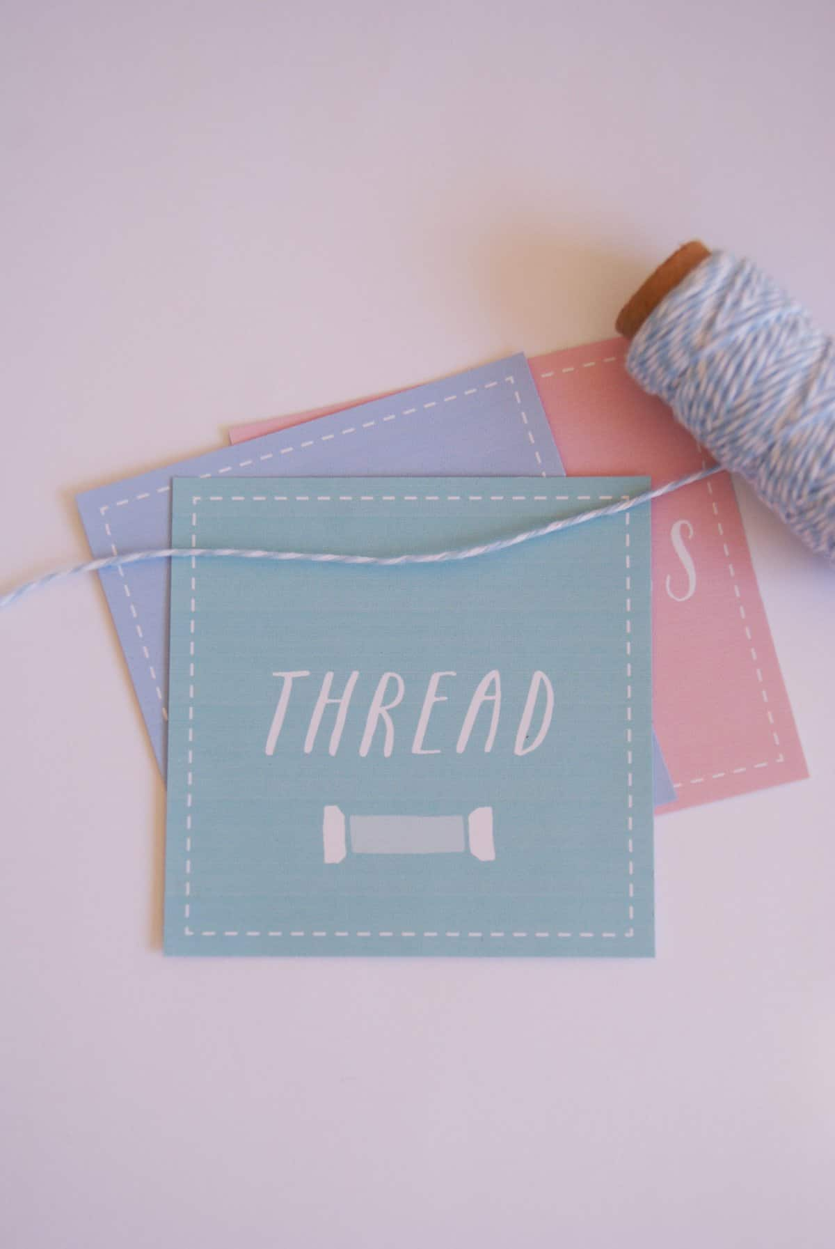 Sewing Room Organization With Free Printables See Kate Sew