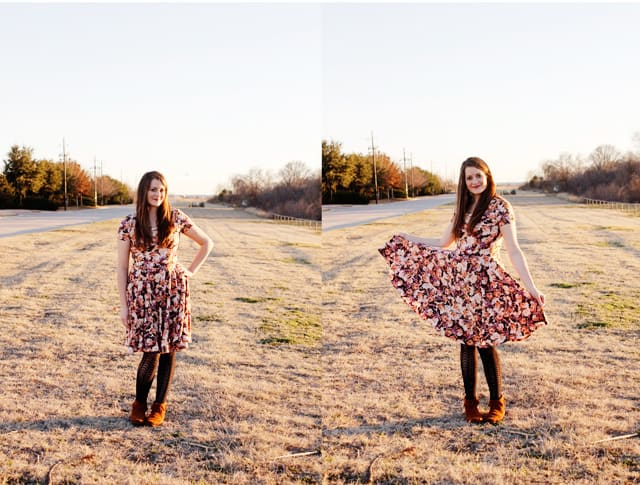 circle skirt dress pattern by see kate sew