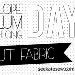 Penelope Peplum Sew-a-long Day 3: Cutting Fabric