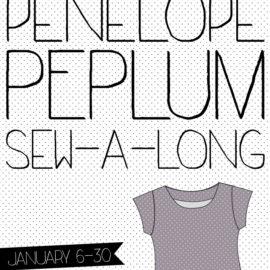 Penelope Peplum Sew-a-long!
