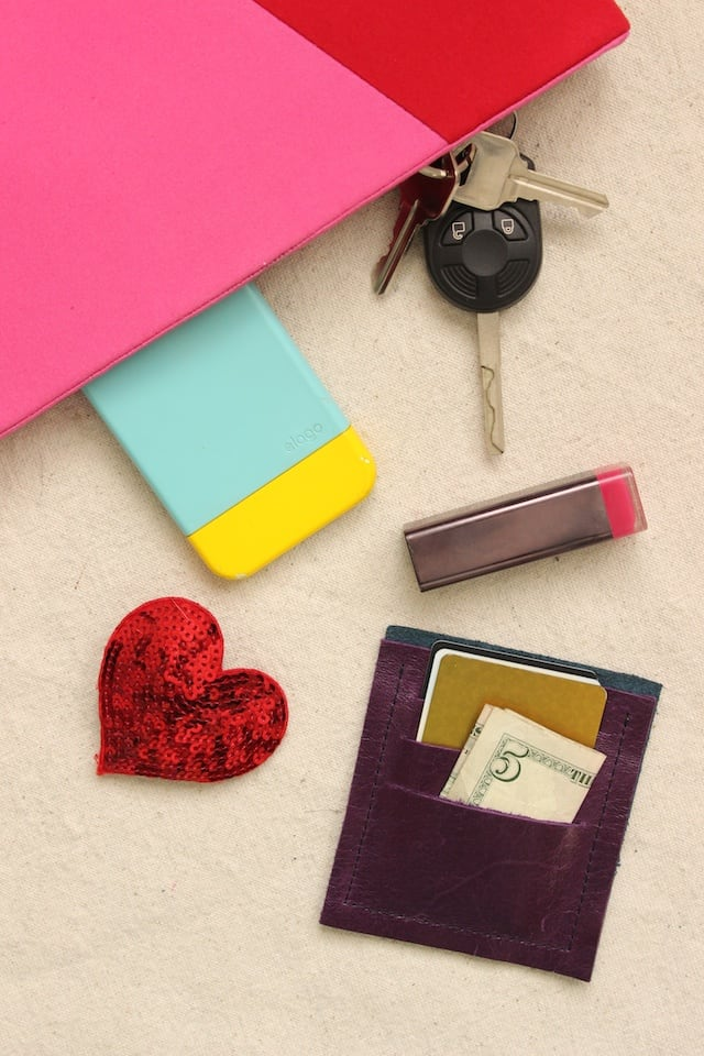 DIY Mini Leather Wallet 2
