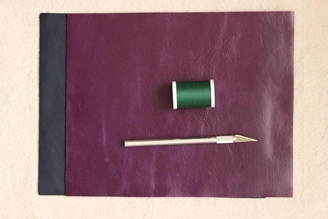 DIY Mini Leather Wallet - Materials