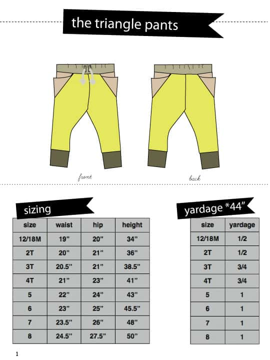 triangle-pants-measurements