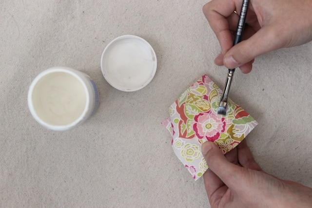 DIY Scrap Fabric Spring Brooches - Step 2