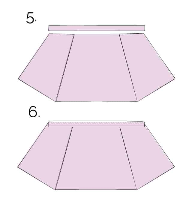 aline skirt tutorial