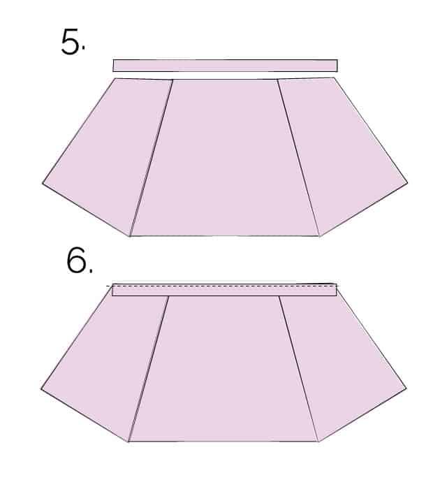 aline skirt tutorial