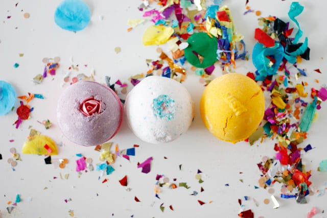 bath fizzies gift idea