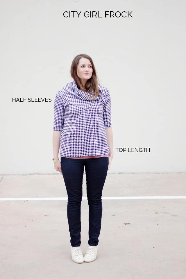 the City Girl in top length by See Kate Sew http://bit.ly/OliFV3