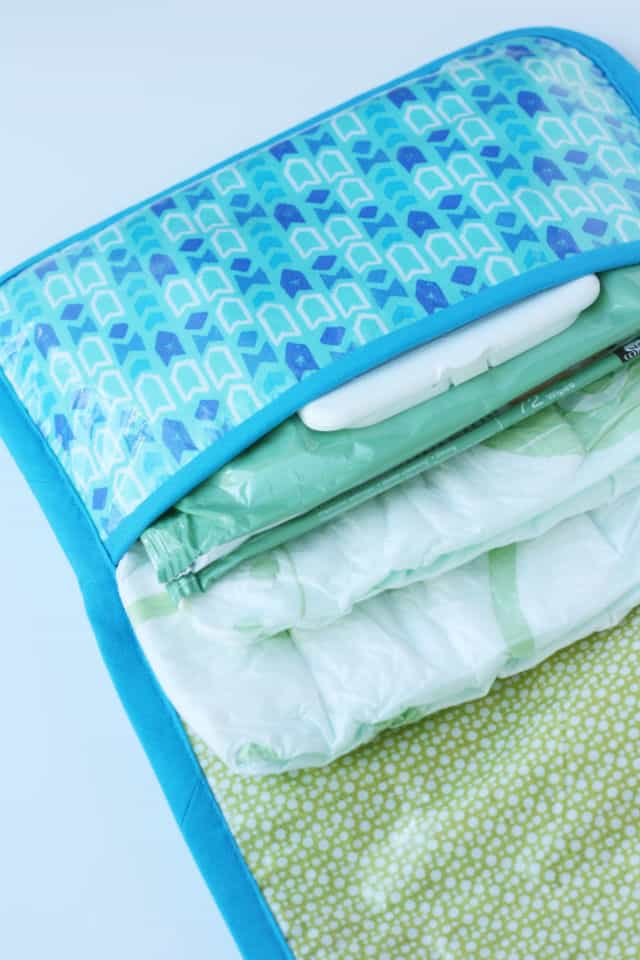 diy changing pad and diaper clutch for boys see kate sew. Black Bedroom Furniture Sets. Home Design Ideas