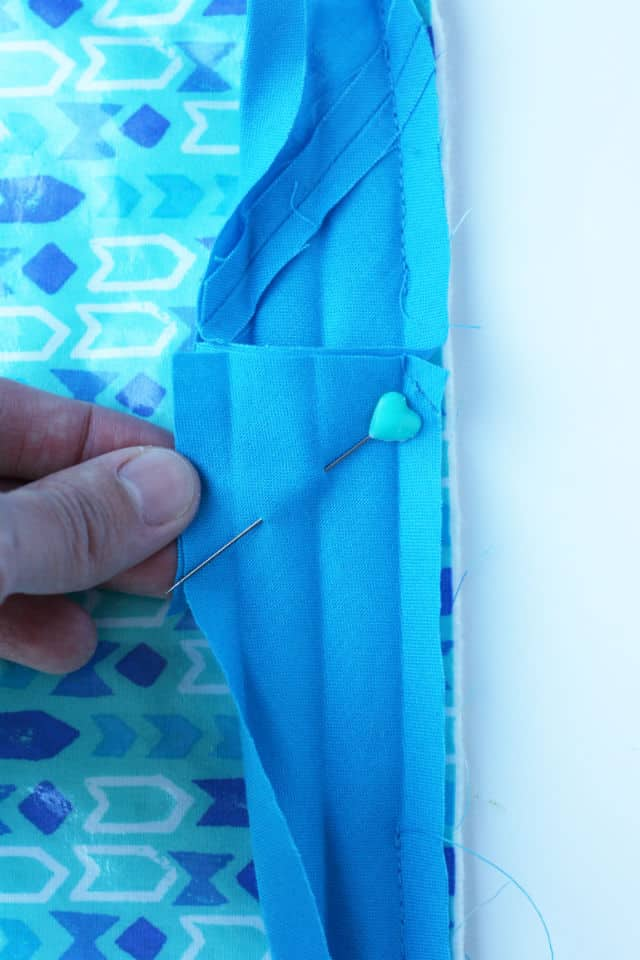 DIY Changing Pad and Diaper Clutch for Boys | sewing tutorials | DIY baby | diy baby items || See Kate Sew #diybaby #changingpad #sewingtutorial