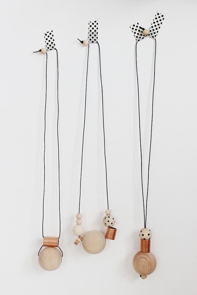 DIY Wood + Copper Necklaces (4)
