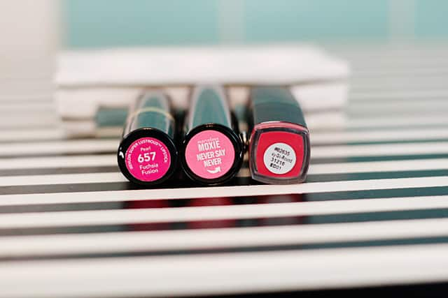 DIY lipstick holder - best pink lipsticks