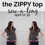 zippy top sewalong coming next Friday + a discount code!