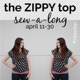 the ZIPPY TOP sewalong