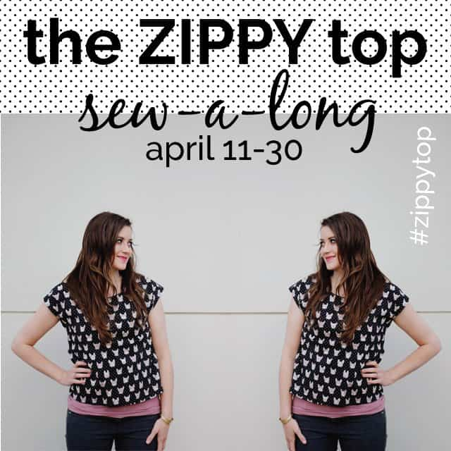the ZIPPY TOP sewalong