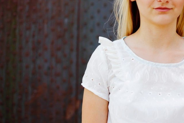 the callie top sewing pattern // seekatesew.com