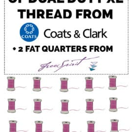 Coats and Clark Thread giveaway
