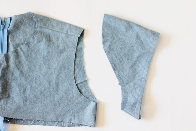 how to ease a sleeve into an armscye // seekatesew.com