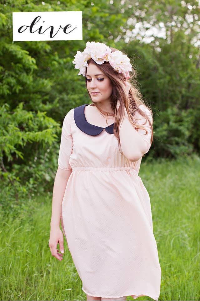 the OLIVE dress