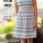 Penelope Peplum by iCandy Handmade