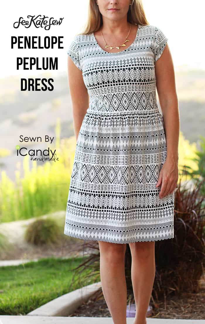 Tribal Penelope Peplum by iCandy handmade