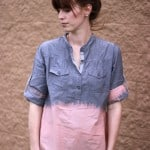 Bleach Dipped Chambray Shirt Tutorial