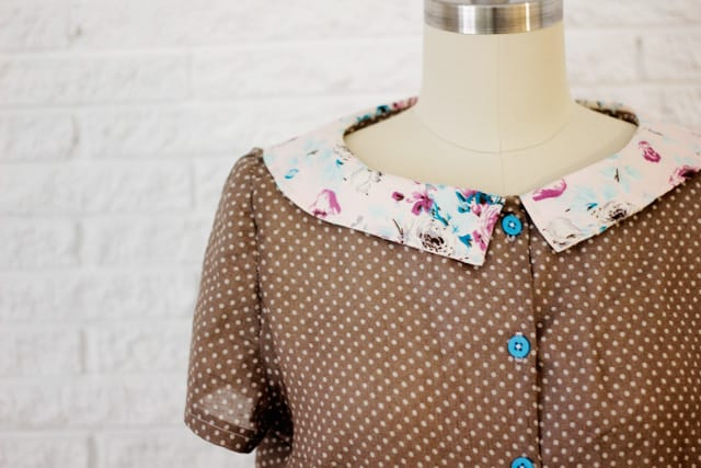 the sassy librarian blouse
