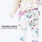 triangle pants elastic hack