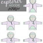 the explorer hoodie: details!