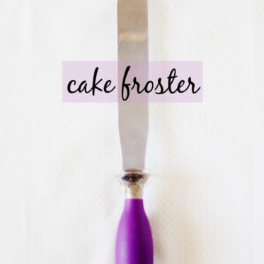 use a cake froster for sewing? Click to find out why you'll need one too!