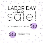 Labor Day Weekend Sale!