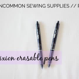 FRIXION PENS FOR SEWING