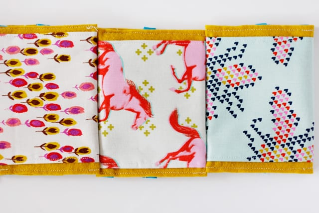 Velcro Wallet Tutorial Sewing Pattern | DIY sewing wallet pattern