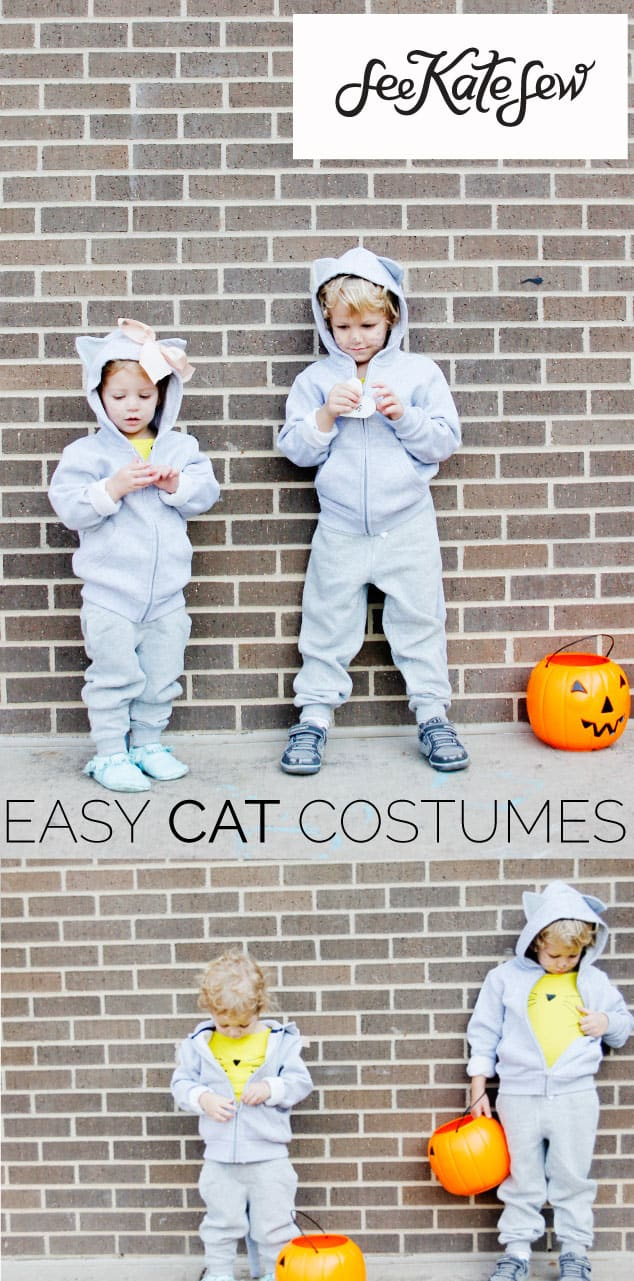Easy Cat Costumes|See Kate Sew