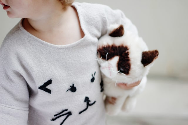 DIY CAT SWEATER