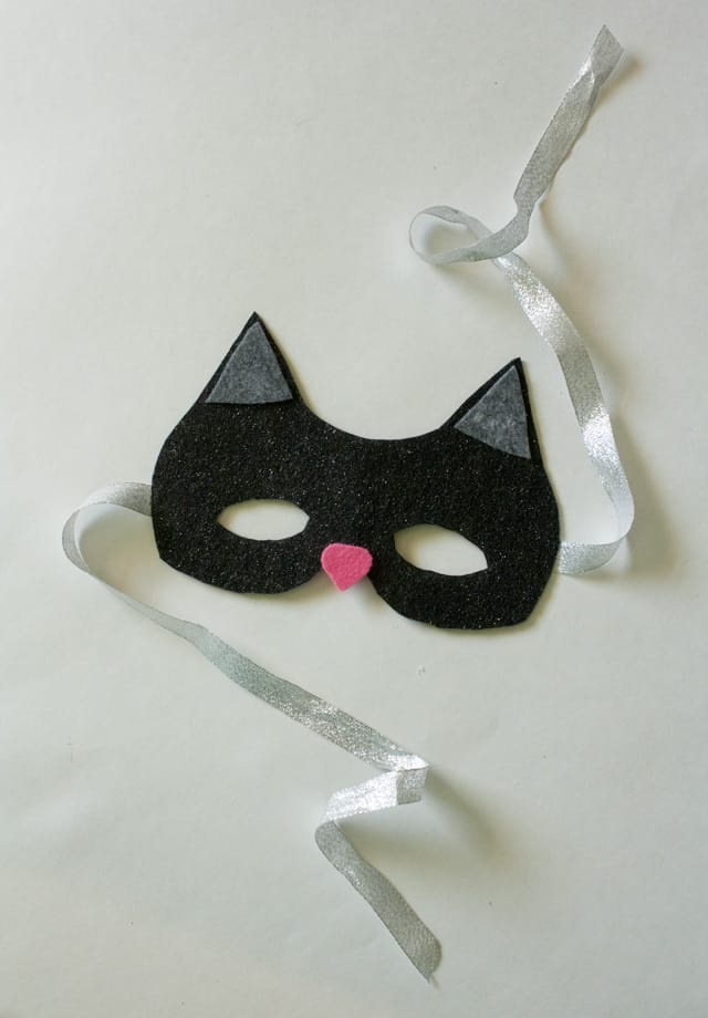 no sew cat mask tutorial