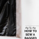 bagged lining tutorial