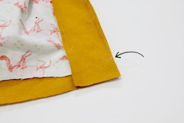 Simplified bagged lining tutorial