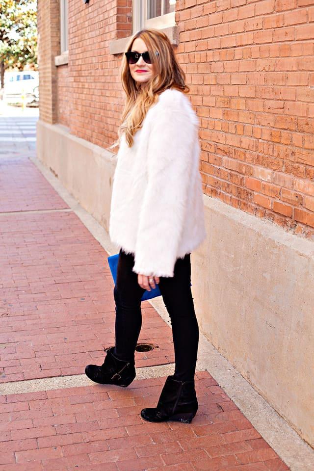 DIY faur fur coat