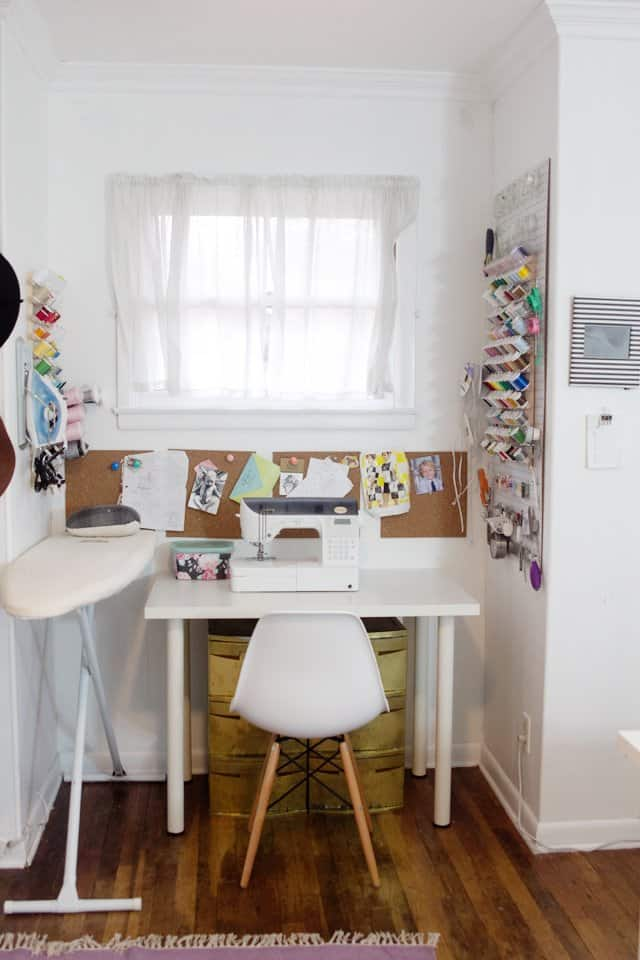 Where i sew sewing room tour see kate sew Sewing room ideas for small spaces