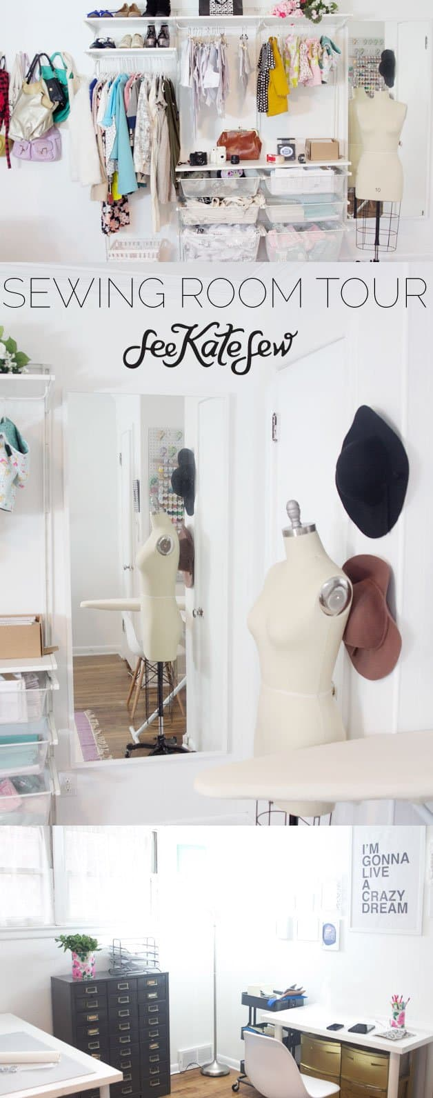 Sewing Room Tour | See Kate Sew