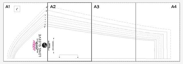 sleeve-layout