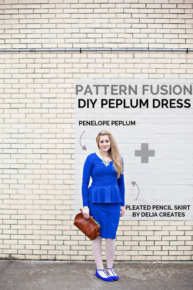 DIY PEPLUM DRESS