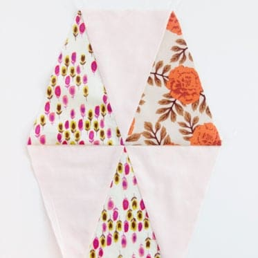SHARP POINTS ON TRIANGLE QUILT