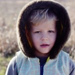BOY SEWING // cotton + steel hooded vest with fur