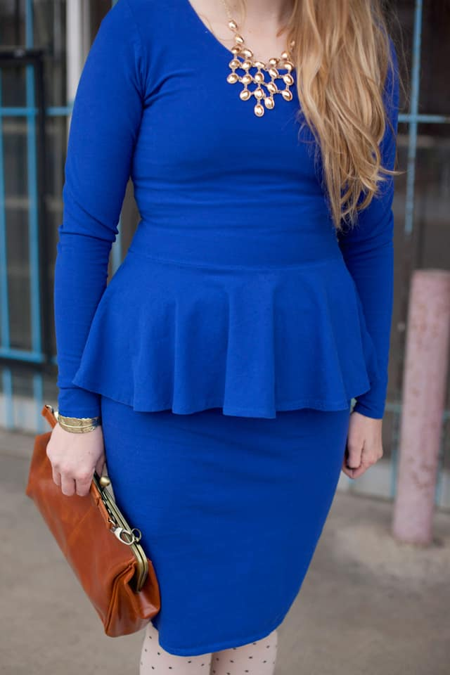 Penelope Peplum Dress!
