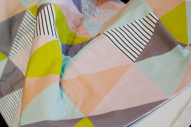 One Hour Triangle Quilt See Kate Sew