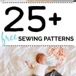 25 free sewing patterns!