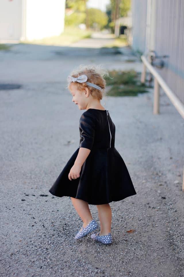 PLEATHER PIPPA DRESS